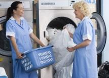 Die Waschmaschine in der hauseigenen Wäscherei: Checkliste