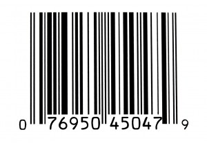 Der Barcode: Elastische Gewebebänder, die mit einem Bar- oder Strichcode bedruckt sind und in die Textilien gepatcht werden, sind inzwischen Standard bei der Wäschekennzeichnung.